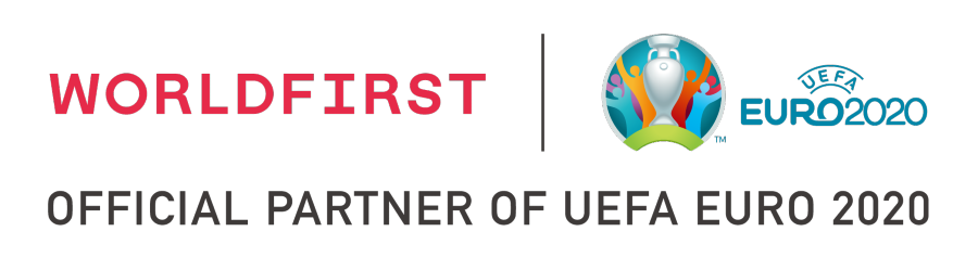 UEFA and WorldFirst partnership logo