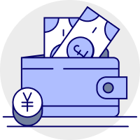 Receive and hold funds icon